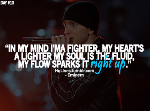 Quotes About Love AZ : Eminem Quotes About Love