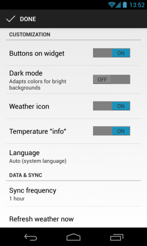 The best f---ing weather widget you can install [AC After Dark]