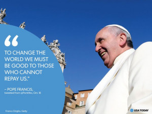 Pope Francis' memorable, controversial quotes