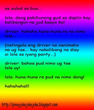 Joke Time Quotes Bisaya ~ Pin Home Pinoy Quotes Jokes Pamatay Banat ...