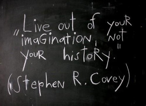 Inspiring quotes sayings imagination stephen r covey