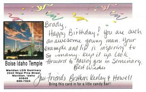 Happy Clean Living: Brady's 17th Birthday