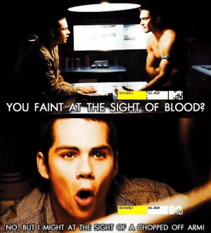Scott McCall: Okay, so what happens to a person who has a near-death ...