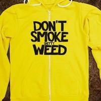 Dont Smoke Shitty Weed T Shirt - Frisk T's - Skreened T-shirts ...