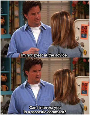Funny And Hilarious Friends TV Show Quotes
