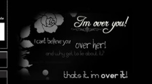im over you quotes friendster Layout