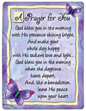 prayer for all of you friends on