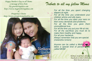 Tribute Mother Image Page