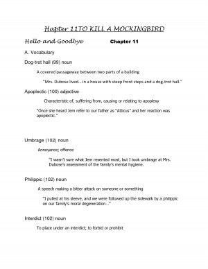 ... Quotes And Page Numbers ~ Quotes From To Kill A Mockingbird With Page
