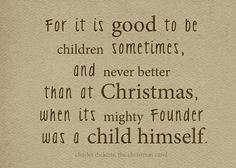 Christmas Carol Quotes About