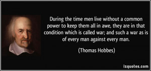 More Thomas Hobbes Quotes