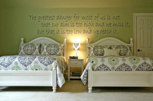 ... Girls Room Interior Designs Decorating Design Line Bedroom Wall Art