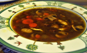 Beef And Barley Vegetable Soup