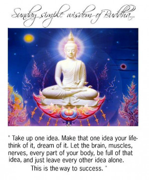 Sunday Simple Wisdom of Buddha + Somethin' from The Civil Wars...