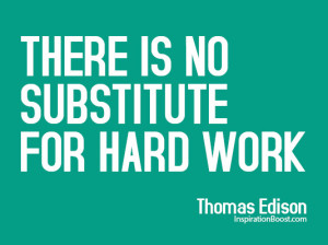 Thomas Edison Hard Work Quotes