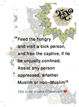 Prophet Quotes Card by HadiArts