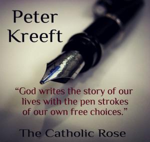 St. Peter Kreeft...
