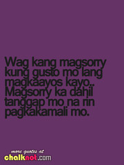 sorry tagalog love quotes Tagalog Quotes