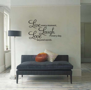 ... Quote-Wall-Stickers-Living-room-Decor-Art-Decal-sticker-Quotes-Sayings