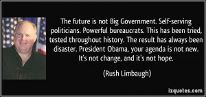 Rush Limbaugh Quotes About Obama
