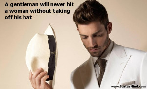 Never Hit a Woman Quotes