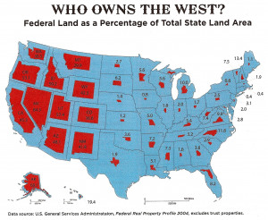 The United States government has direct ownership of almost 650 ...