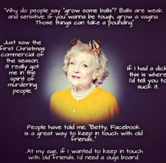 white more laughing old lady betty white golden girls funny quotes ...