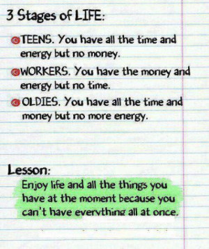 Funny Life Lesson Quotes