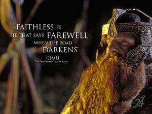 Lord of the Rings Gimli Quotes