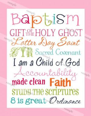 Mormon Baptism Quotes Quotesgram