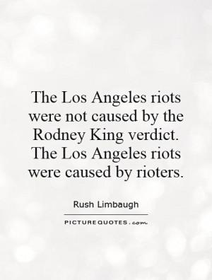 LA Riot Rodney King Quotes