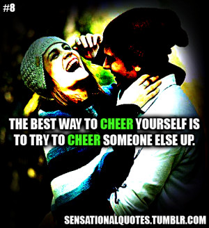 cheer someone up
