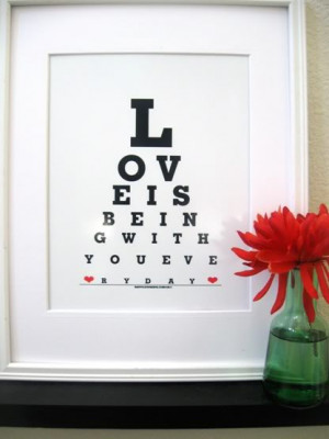 Love Being with you ~ Being in Love Quote