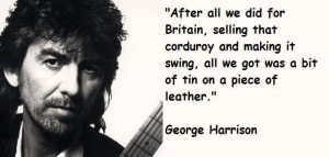 George harrison quotes 1
