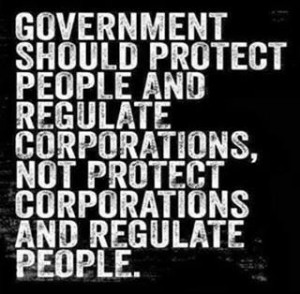 Government should protect people!