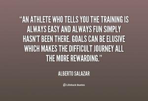 Athlete Quotes Training