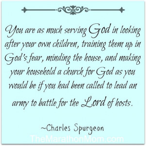 Mothering (by Charles Spurgeon)