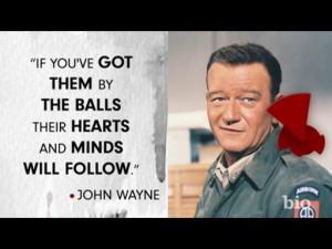 John Wayne Movie Quotes