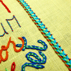 Embroider Your Favorite Quote With Step-by-Step Directions