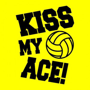 Sports Life, Kiss My Ace Volleyball, Etsy, Nature Sports, Volleyball ...
