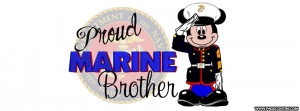 Proud Marine Brother Cover Comments