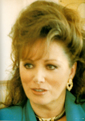 JACKIE COLLINS (more) ON PLUGGING A BOOK