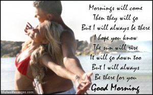 Sweet Romantic Good Morning Quotes For Her: Good Morning Poems For ...
