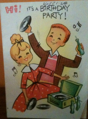Fresh Vintage & Everyday Enchantment Happy Birthday Card