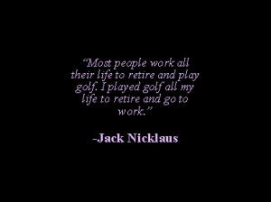 Jack Nicklaus #goldenbear