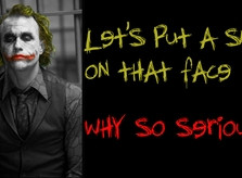 quotes the joker batman the dark knight why so serious 1920x1080 ...