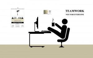 Funny Office Illustrations For Team Work Wallpaper with 1600x1000 ...