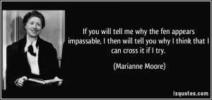More Marianne Moore Quotes