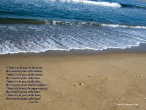 Lao tzu quotes wallpaper with peace quote by lao tzu free wallpapers ...