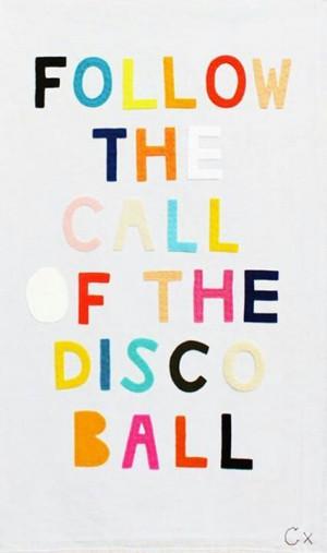 disco #quote